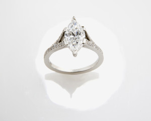 1. marquise diamond ring
