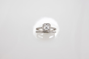5. ascher diamond ring and diamond